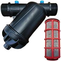 """Filtro de Malla 1 1/2"""". Capacidad filtrado 120 Mesh. Utilizado en instalaciones de riego y riego por Goteo. Rosca Macho…"""