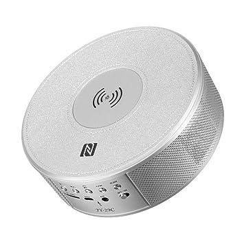 qiyan Multifunción Qi Inalámbrico NFC Altavoz Bluetooth ...