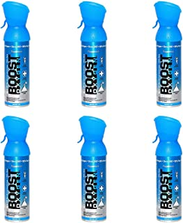 product image for 95% Pure Oxygen Supplement, Portable Canister of Clean Oxygen, Increases Endurance, Recovery, Mental Acuity and Performance, 6 Pack (Peppermint, 6-Pack)