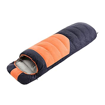 LOLIVEVE Saco De Dormir Al Aire Libre -10~5 Grados C Envelope Rectangular Bag Duck Down Waterproof Duck: Amazon.es: Deportes y aire libre