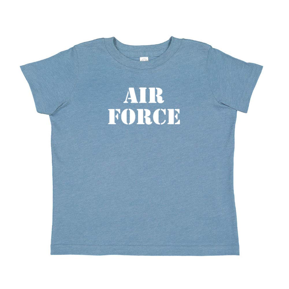Air Force Military Armed Forces Soldier Toddler//Kids Short Sleeve T-Shirt