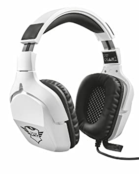 Trust Gaming GXT 345 Creon - Auriculares Gaming para PC con vibración de Graves y Sonido