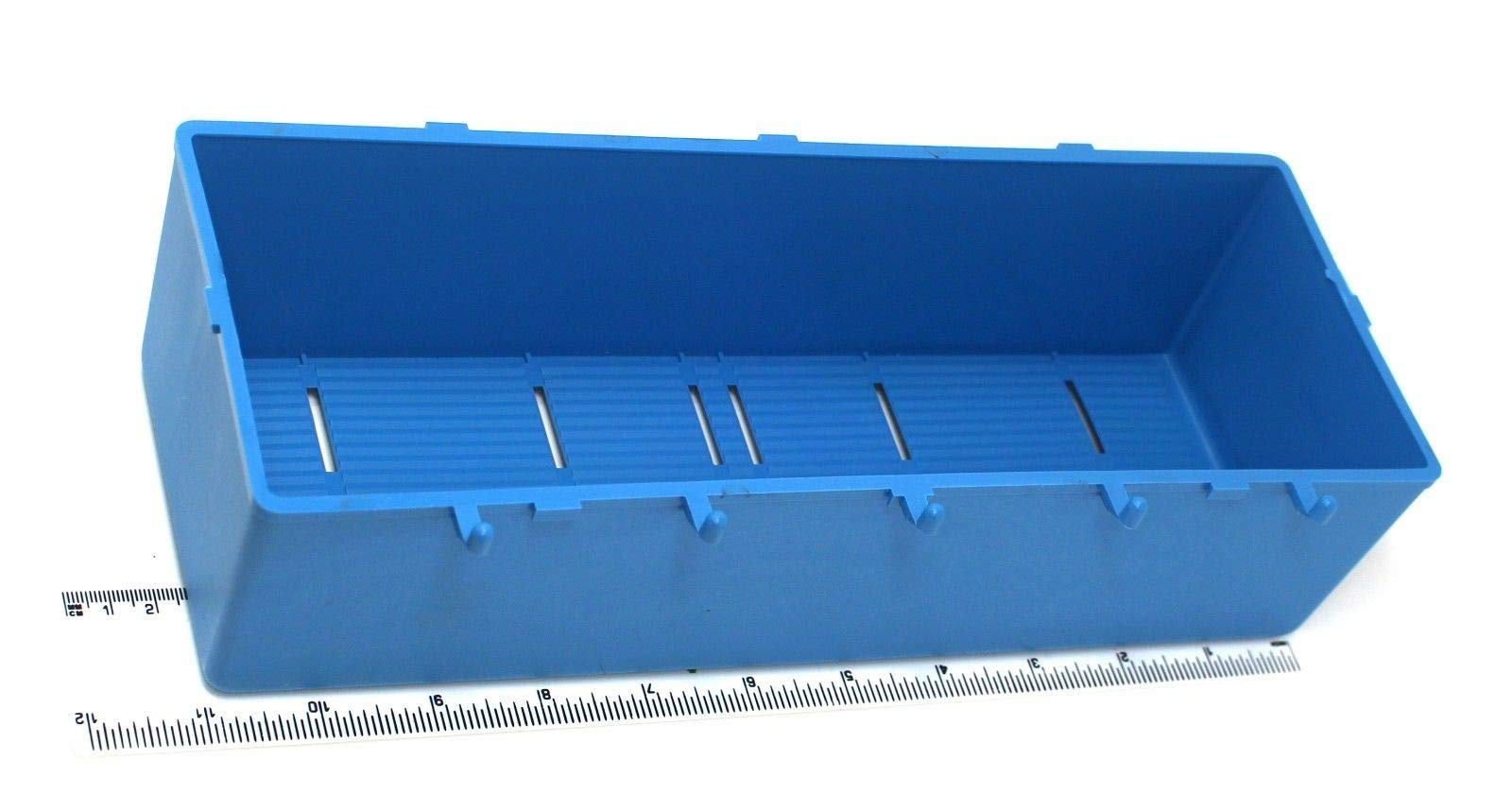 Plastic Blue Parts Storage Bins Peg Tool Board Workbench PEGBOARD NOT INCLUDED by Unknown (Image #1)