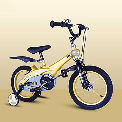 QXMEI Vélo Enfants Vélo 2-4-6 Ans Garçon Et Fille Vélo,D(16Inches)