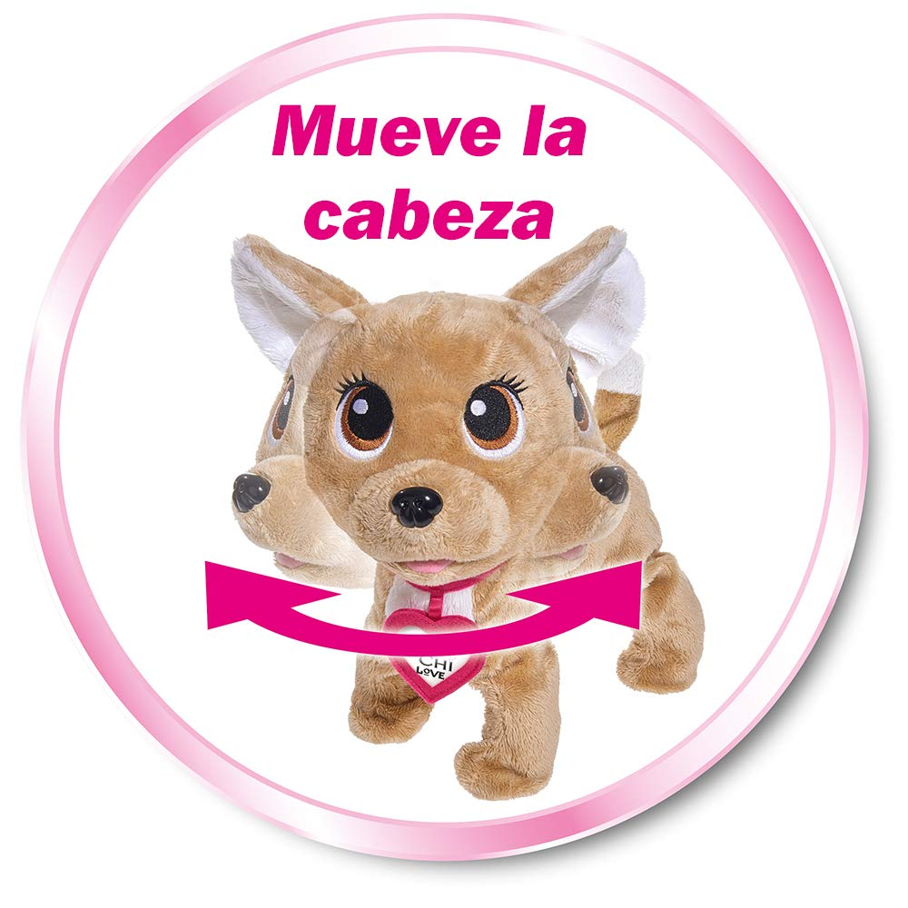 Amazon.es: Happy perrito interactivo de Chi Chi Love (Simba 5893110) (Versión español)