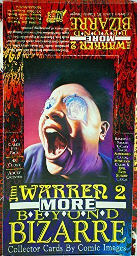 (1994 - Comic Images - Jim Warren 2 : More Beyond Bizarre - Collector Cards - OOP / MIB - New - Mint - Rare -)