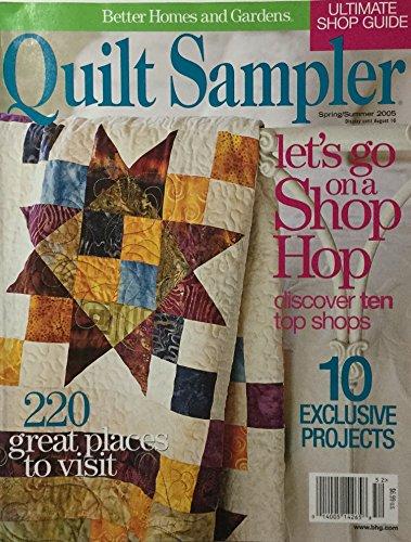 Garden Quilt Sampler - Better Homes and Gardens Quilt Sampler Spring/Summer 2005