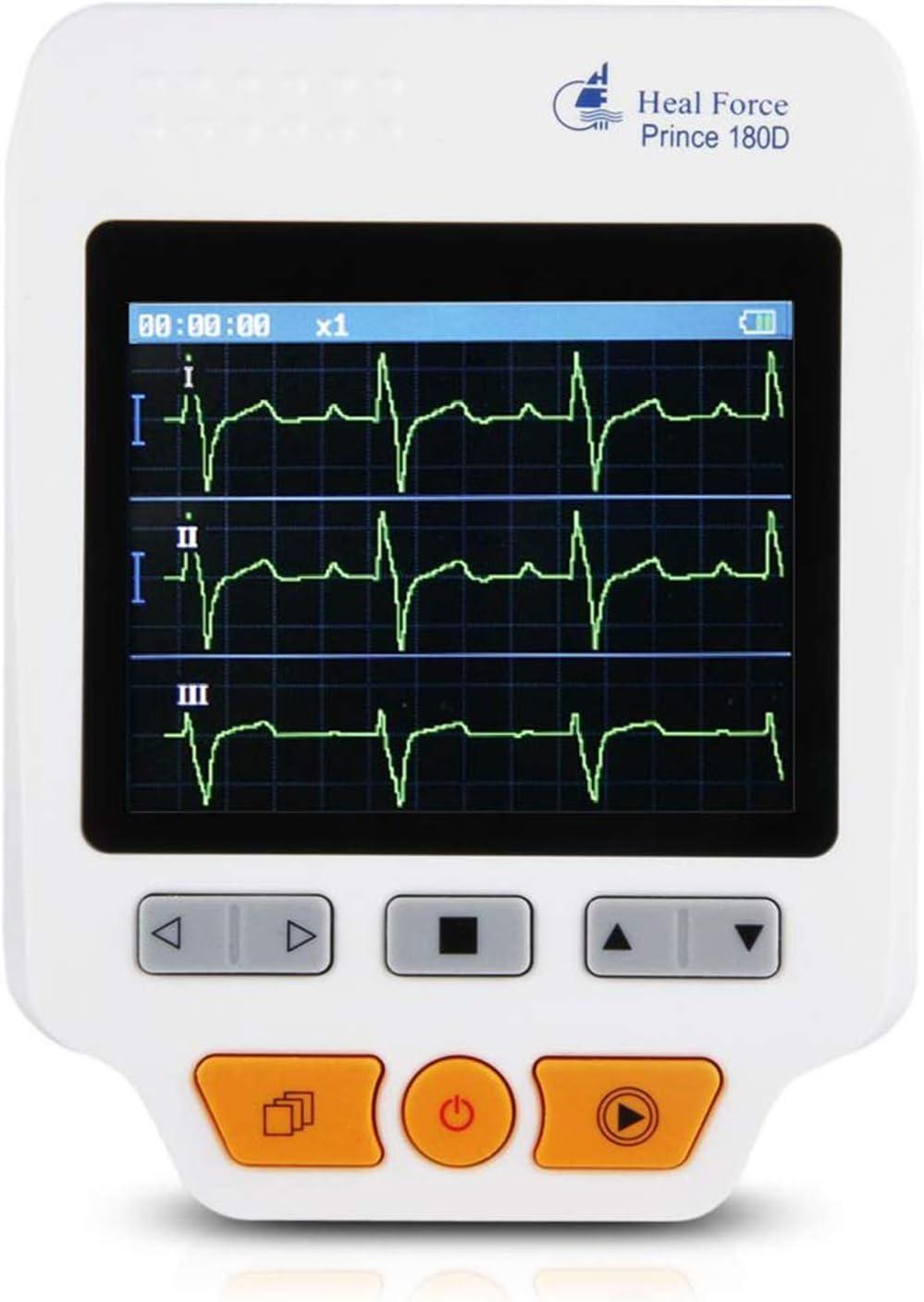 L&F ECG de la máquina Inicio dinámica del electrocardiógrafo portátil de 24 Horas Grabadora Monitoreo Pequeño