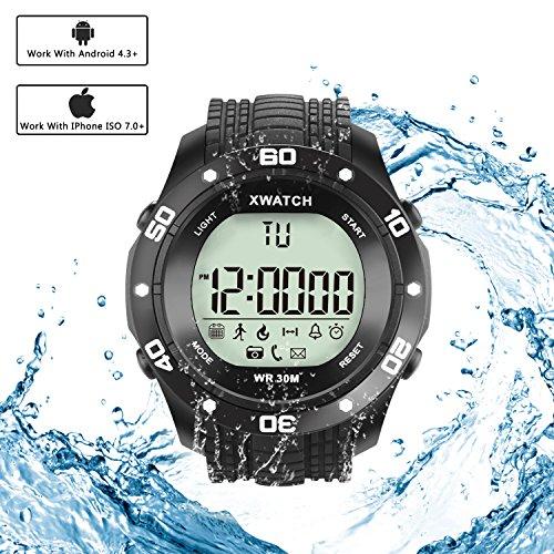 Simptech Sports Smart Watch Bluetooth Waterproof - LED Digital Watch ,Fitness Running Bracelet Simptech