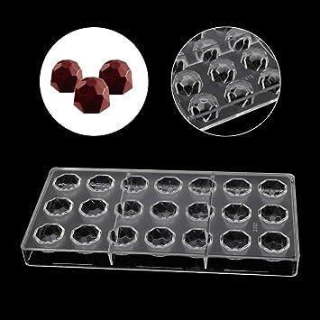 Molde de policarbonato para hacer dulces y postres de SLYlive: Amazon.es: Hogar