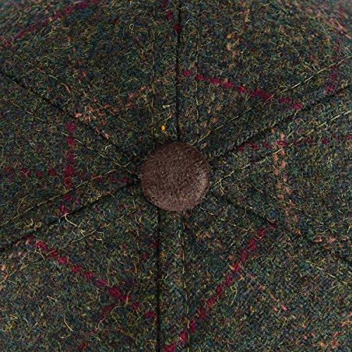 a5126d8b VOBOOM Men's Wool Blend Baseball Cap Herringbone Tweed Ball Cap Check  Woolen Adjustable Peaked Cap (