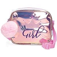 Enso Super girl Bandolera Rosa 18x15x5 cms TPU y PVC