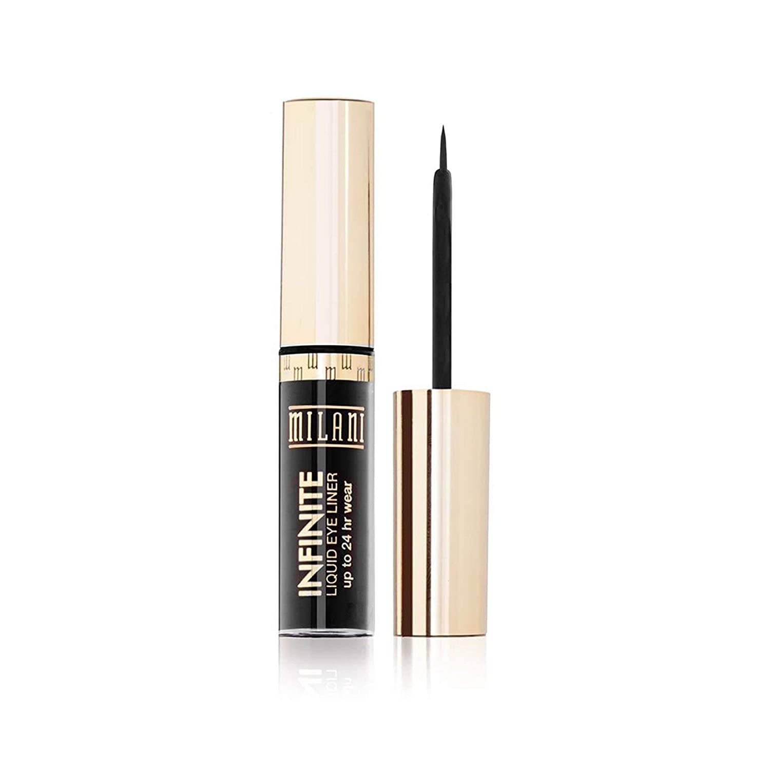 Milani Infinite Liquid Eyeliner - Everlast (0.17 Fl. Oz.) Vegan, Cruelty-Free Liquid Eyeliner to Define & Intensify Eyes for Up to 24 Hours