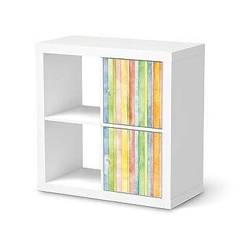 Sticker Möbel Für Ikea Expedit Regal 2 Türen Hoch Möbelfolie
