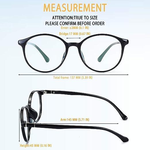 faf2d7d474 Men Fake Glasses Vintage Cat Eye Non-prescription Clear Lens Round Eyewear  Frame Unisex Eyeglasses CX36054 B01