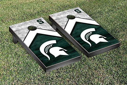 Victory Tailgate Michigan State Spartans Cornhole Game Set Trailblazer Version ()