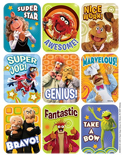 Eureka Muppets Stickers, Giant (650925)