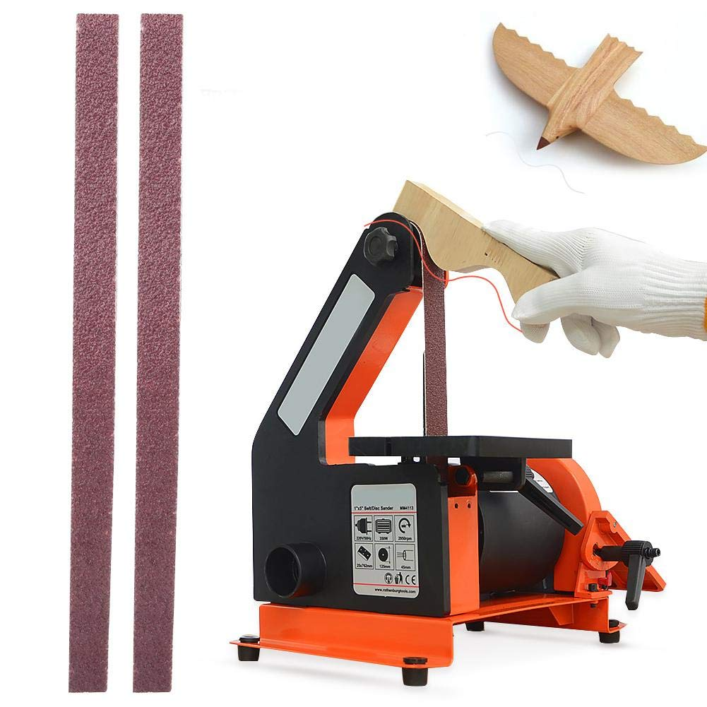 60 10 ST/ÜCKE Schleifband Rundschleifband 457x13mm Aluminiumoxidschleifer Schleifmaschinen Schleifmaschinen Schleifband Teile Holzbearbeitung Metall Polieren GXK51-B