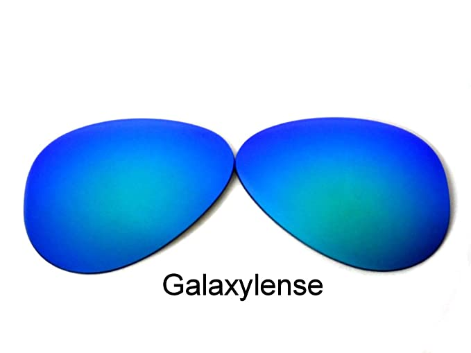 7c3f12614 Amazon.com: Galaxy Replacement Lenses For Ray-Ban RB3025 Green 62 mm  Polarized: Clothing