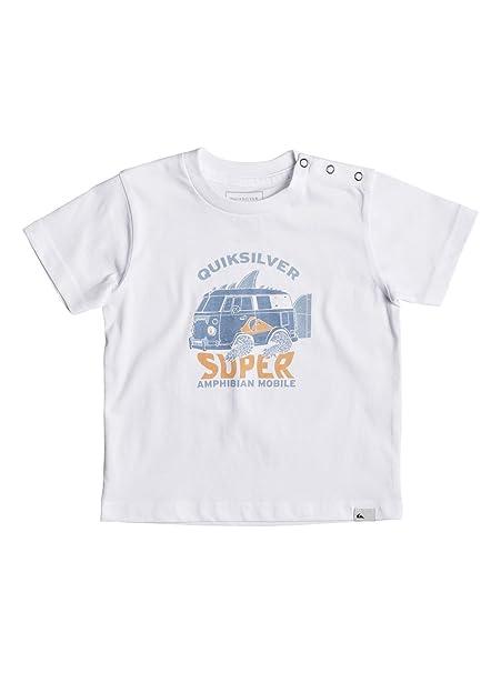 Quiksilver - Camiseta - Bebés - 12-18M  Amazon.es  Ropa y accesorios 219399fe52f