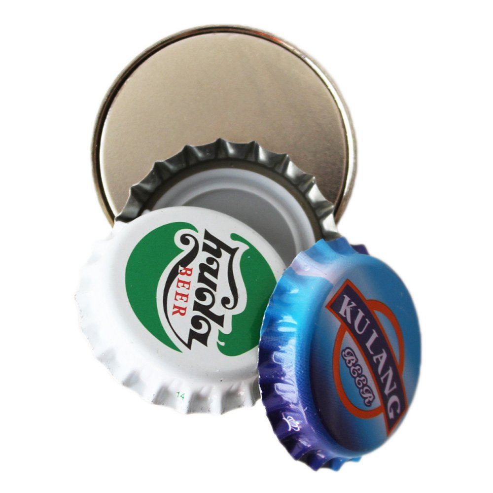Hems Round Magnetic Bottle Cap Catcher For Wall Mount