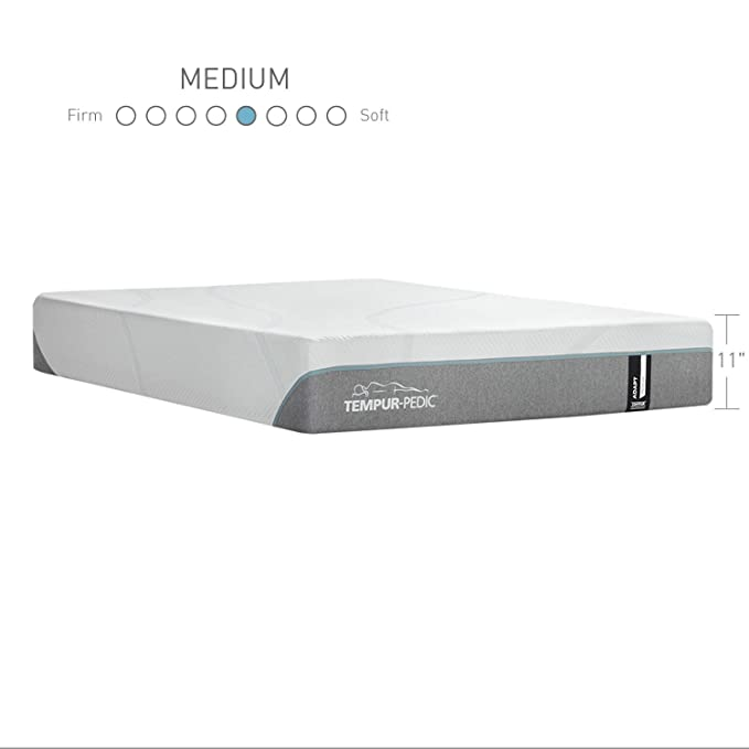 Amazon.com: Tempur-Pedic TEMPUR-Adapt 11-Inch Medium Foam Mattress, Queen, Made in USA, 10 Year Warranty: Kitchen & Dining