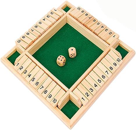 Juguetes de Sudokus Número de rompecabezas Juguetes educativos Juguetes Juego de mesa Tarjetas de cuatro juegos