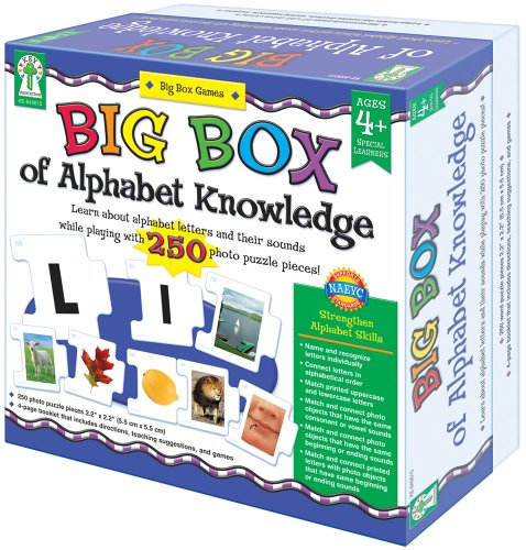 Key Education Big Box of Alphabet - Booklet Alphabet