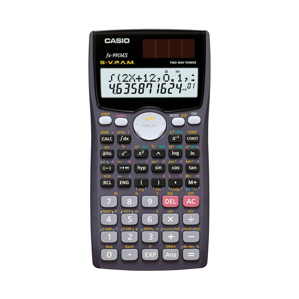 Casio fx-991MS Scientific Calculator with 2-Line Display by Casio
