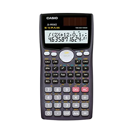 casio scientific calculator manual