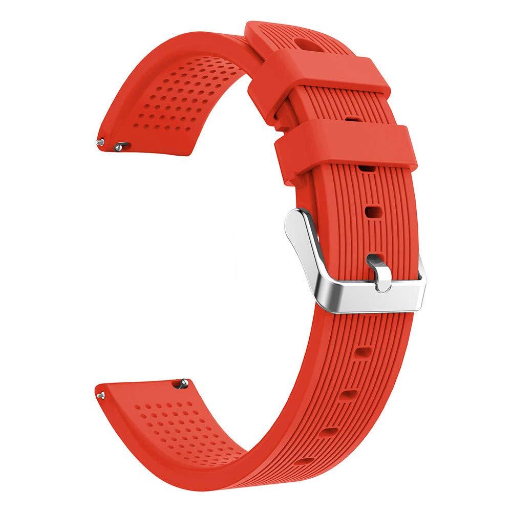 Lovewe Samsung Galaxy Watch Sport Soft Silicon Accessory,Watch Band Wirstband For Samsung Galaxy Watch 42mm (Orange)