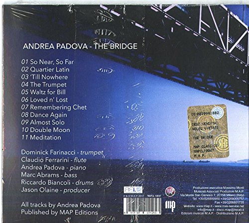 cb0fbc8691 ANDREA PADOVA - Bridge - Amazon.com Music