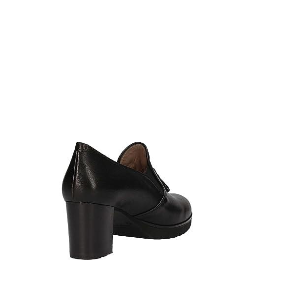 MELLUSO L5032 Zapatos de Tacón Mujer Negro 40 sNp9Ev