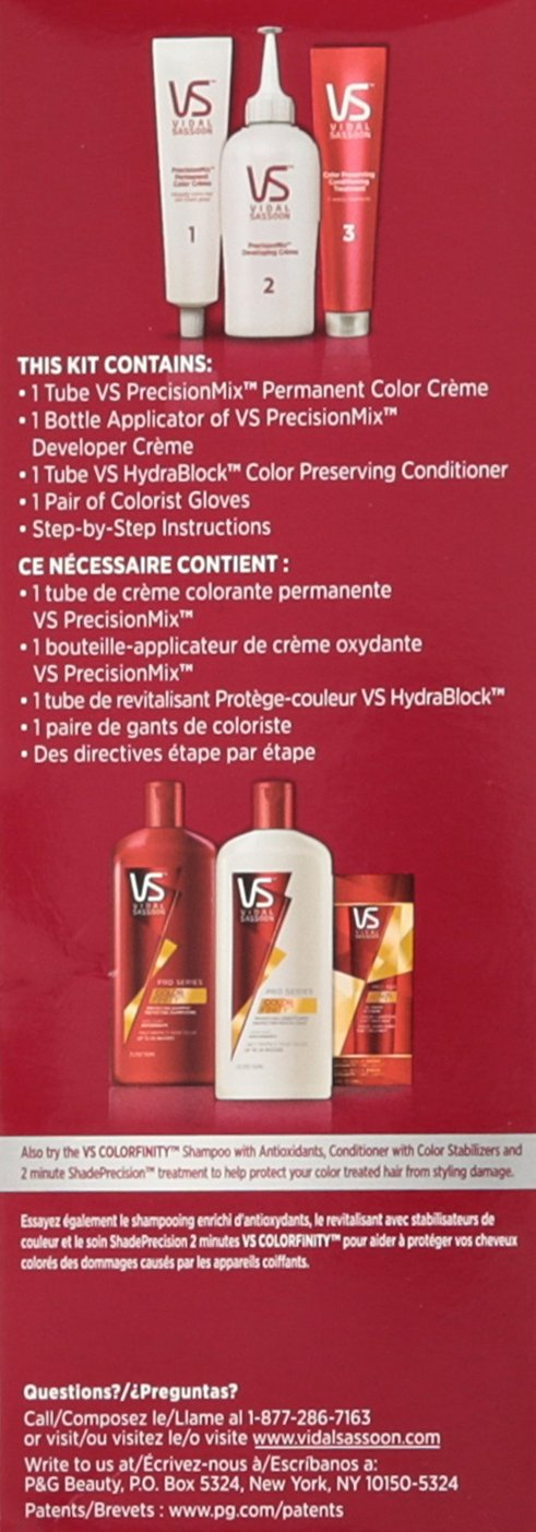 Vidal Sassoon Pro Series London Luxe Hair Color 3vr Deep Velvet