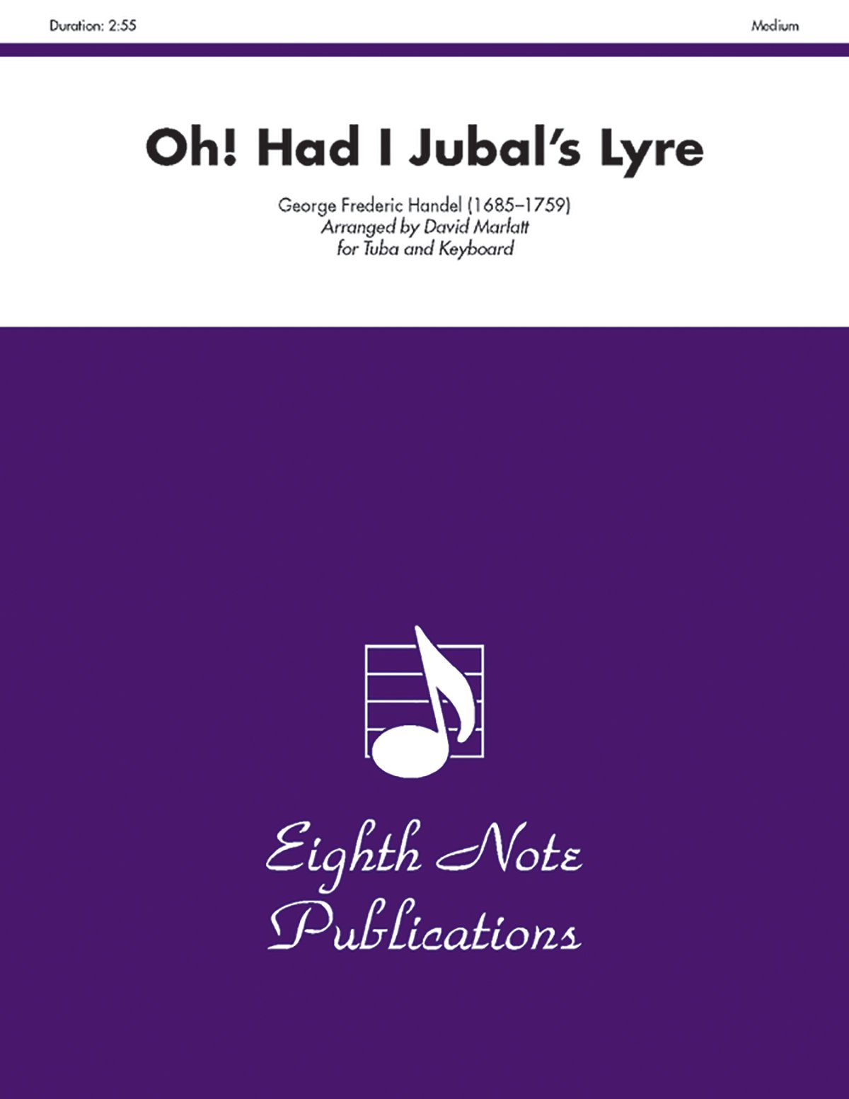 Read Online Oh! Had I Jubal's Lyre: Part(s) (Eighth Note Publications) ebook