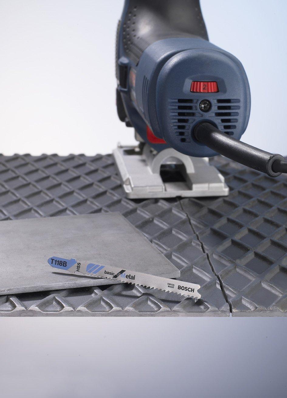 Bosch 2608631030 5 Lames de scie sauteuse pour le m/étal T 227 D