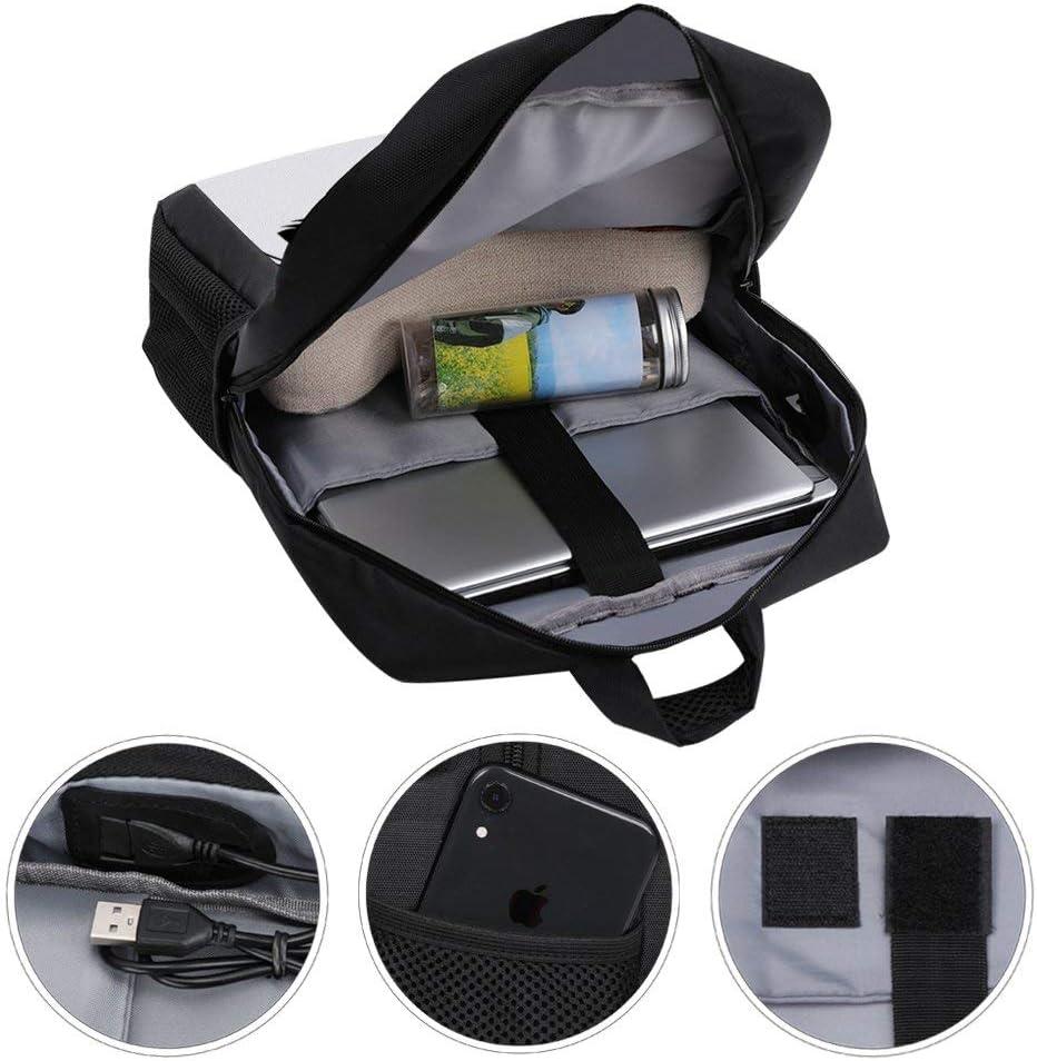 Guess Who Died Negan Walking Dead Backpack Daypack Rucksack Laptop Shoulder Bag with USB Charging Port