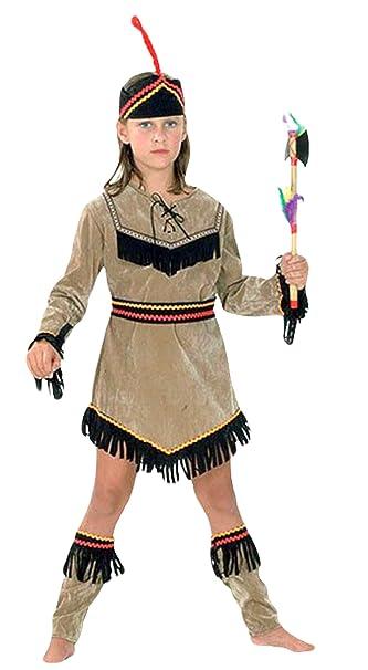 4d0bf92d00f4f erdbeerloft - ragazze Carnevale indiani nativi americani Pocahontas Costume