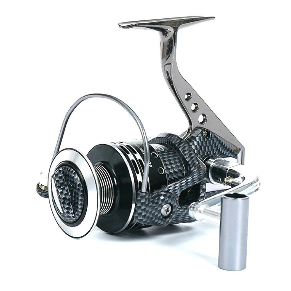 isafish Spinning釣りリール13 + 1bb 5.1 : 1ギア比CNCメタルスプールライト重量Ultra Smooth Powerfulベース歯車リールfor海水と淡水 B01MFAK5P0 BA2000 BA2000