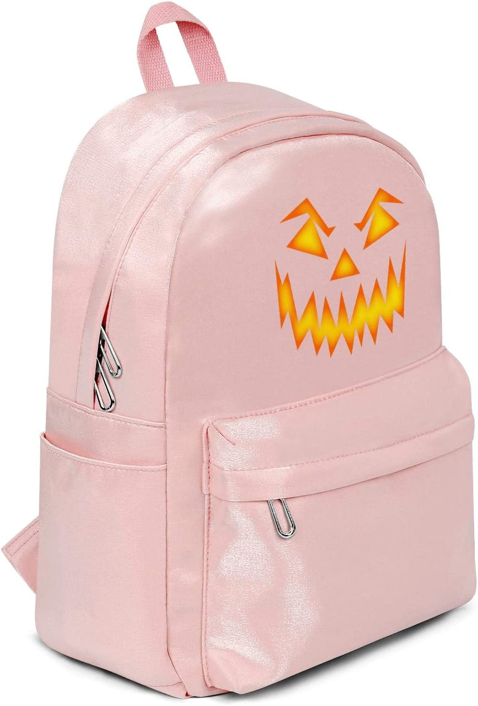 kanidjkd Unisex Backpack//Waterproof Backpack Ultralight Halloween Scary Pumpkin Facecamping Laptop Backpack for Everyday