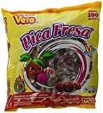 Vero Pica Fresa Chili Strawberry Flavor Gummy Mexican Candy,100 Pieces,1 LB,5.15 OZ Review