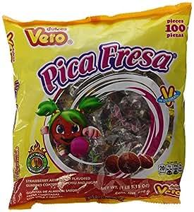 Amazon.com : Vero Pica Fresa Chili Strawberry Flavor Gummy