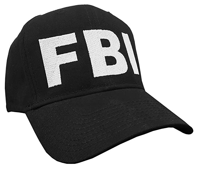 FBI - novelty bureau police sheriff - Embroidered Baseball Cap Hat 61e571a7c43