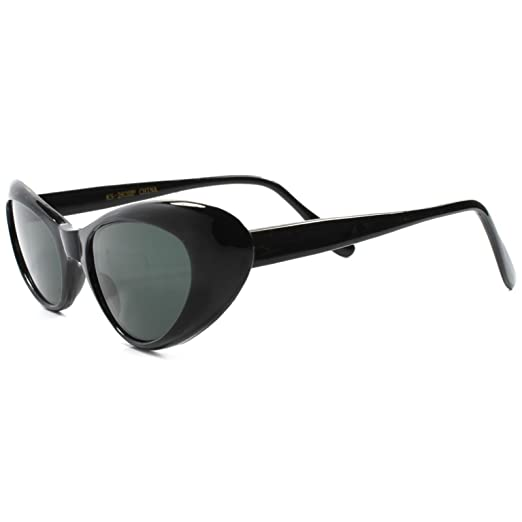 8369fbb910bb Image Unavailable. Image not available for. Color  Classic Vintage  Deadstock Rockabilly 70 s Womens Cat Eye Sunglasses