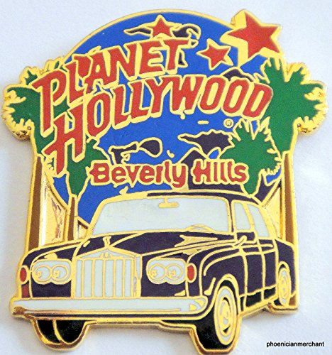 Planet Hollywood Beverly Hills California Rodeo Drive City Pin