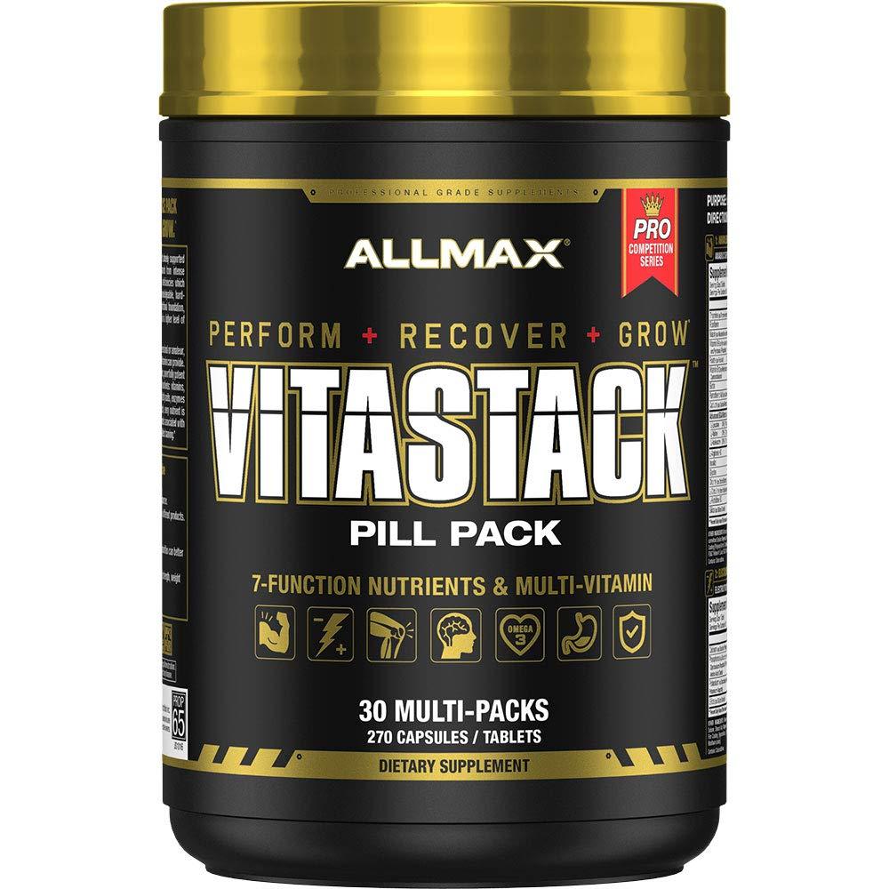 ALLMAX Nutrition Vitastack, Vitamin & Nutrient Stack Packs, 30 Pack