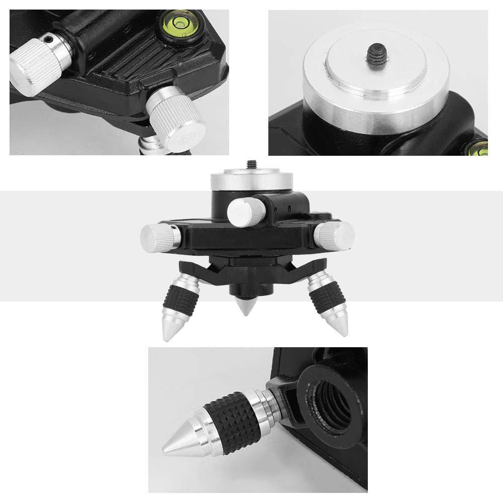 support de support de tr/épied /à rotation r/églable standard pour niveau de lasers 5//8 Tr/épied de niveau lasers