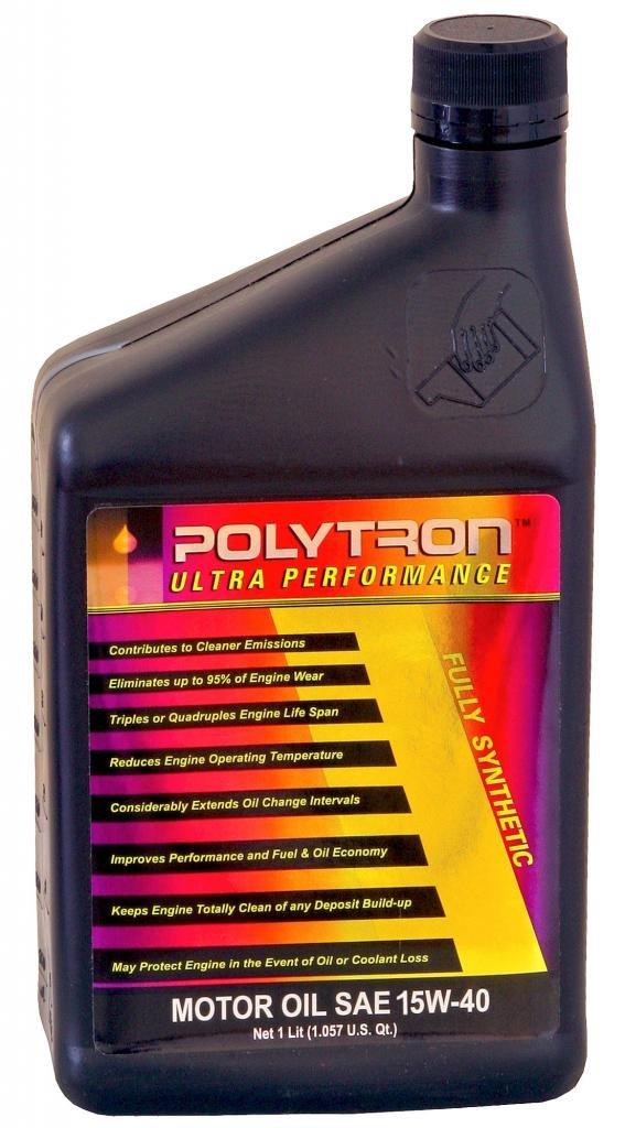 POLYTRON Full sintético 15 W-40 Aceite de motor: Amazon.es ...