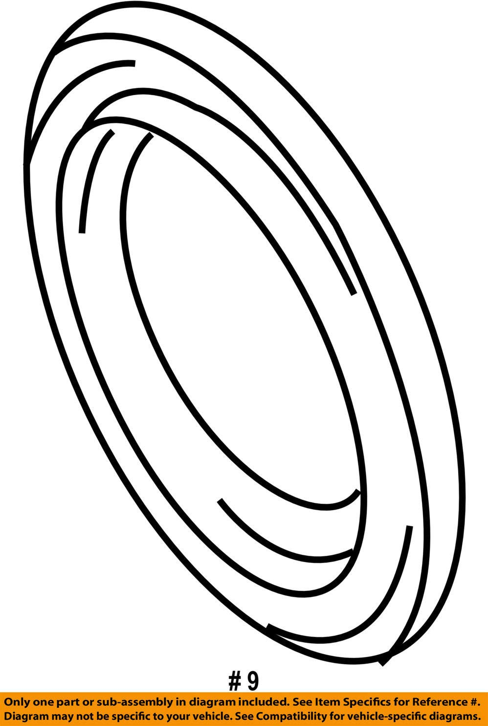 Mopar 6814 6583AA Axle Shaft Seal