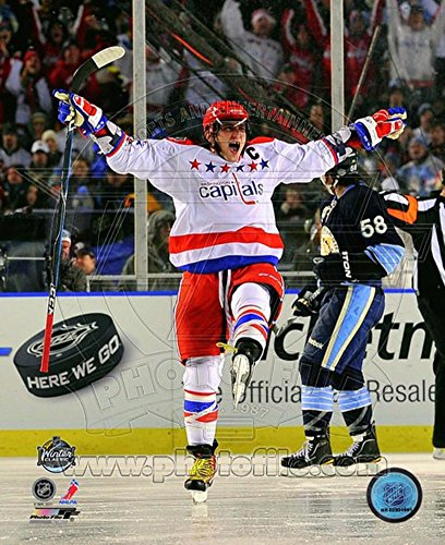 Alex Ovechkin 2011 NHL Winter Classic Action Photo 8 x 10in
